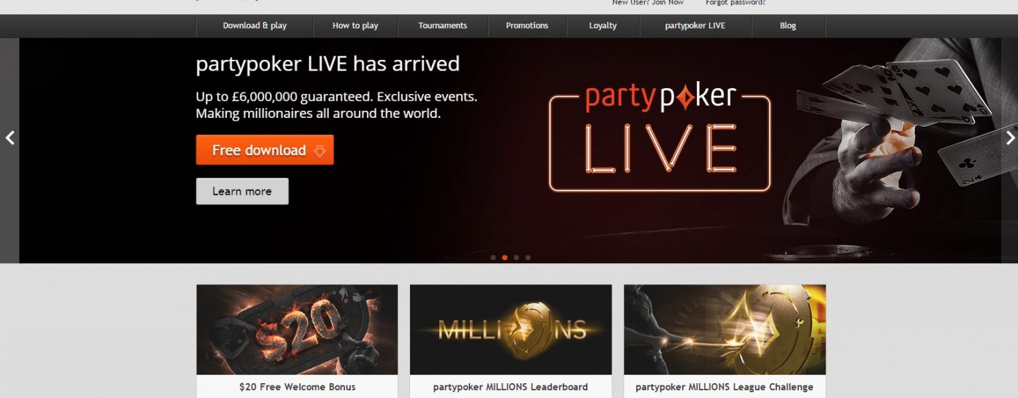 PartyPoker temporarily stops working in Czech Republic