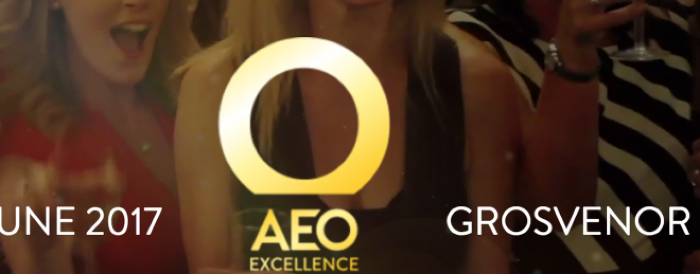 Clarion Events wins 'Most Respected' firm at the AEO Excellence Awards