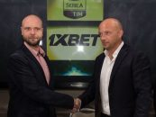 1xbet enters partnership italys serie