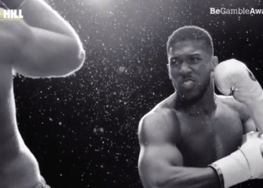 anthony joshua stars in william hills first brand led advert