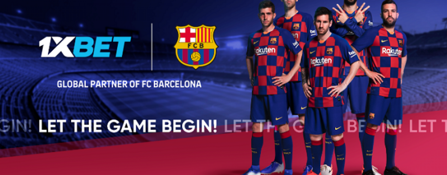 1xbet five year deal fc barcelona