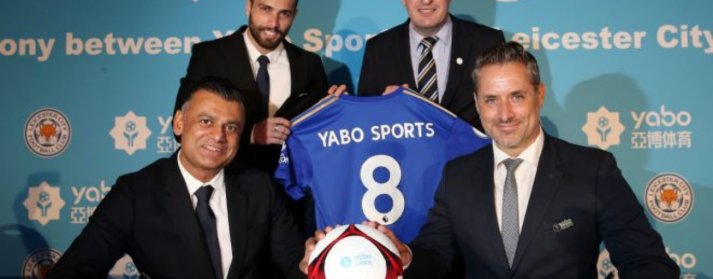 leicester city names yabo sports as new official partner