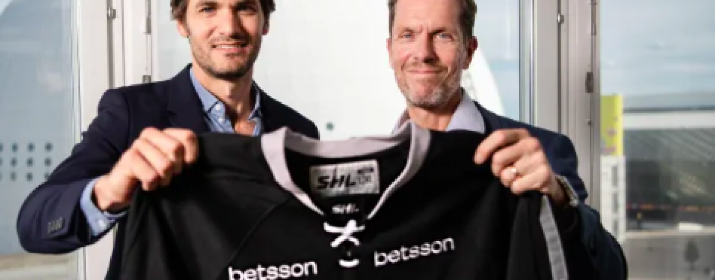 home advantage betsson underlines its responsibility as shl journey begins