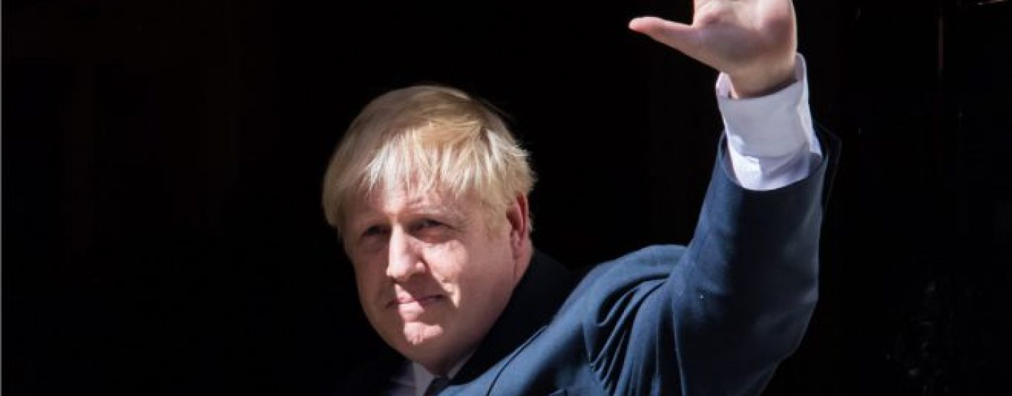 paddy power tips johnson to become shortest serving prime minister