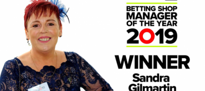 paddy powers sandra gilmartin wins betting shop manager of the year award