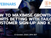 hooyu and sbc webinars present how to maximise growth in esports betting with tailored customer sign up and kyc