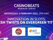 casinobeats innovation in slots series launches with fresh twists on evergreen titles