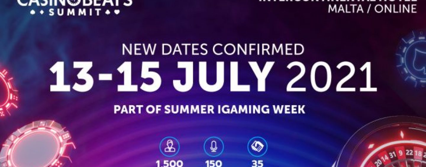 casinobeats summit and maltas summer igaming week set for july 2021